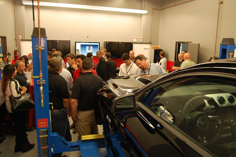 2015 Ford Mustang Adanced Measuring Session